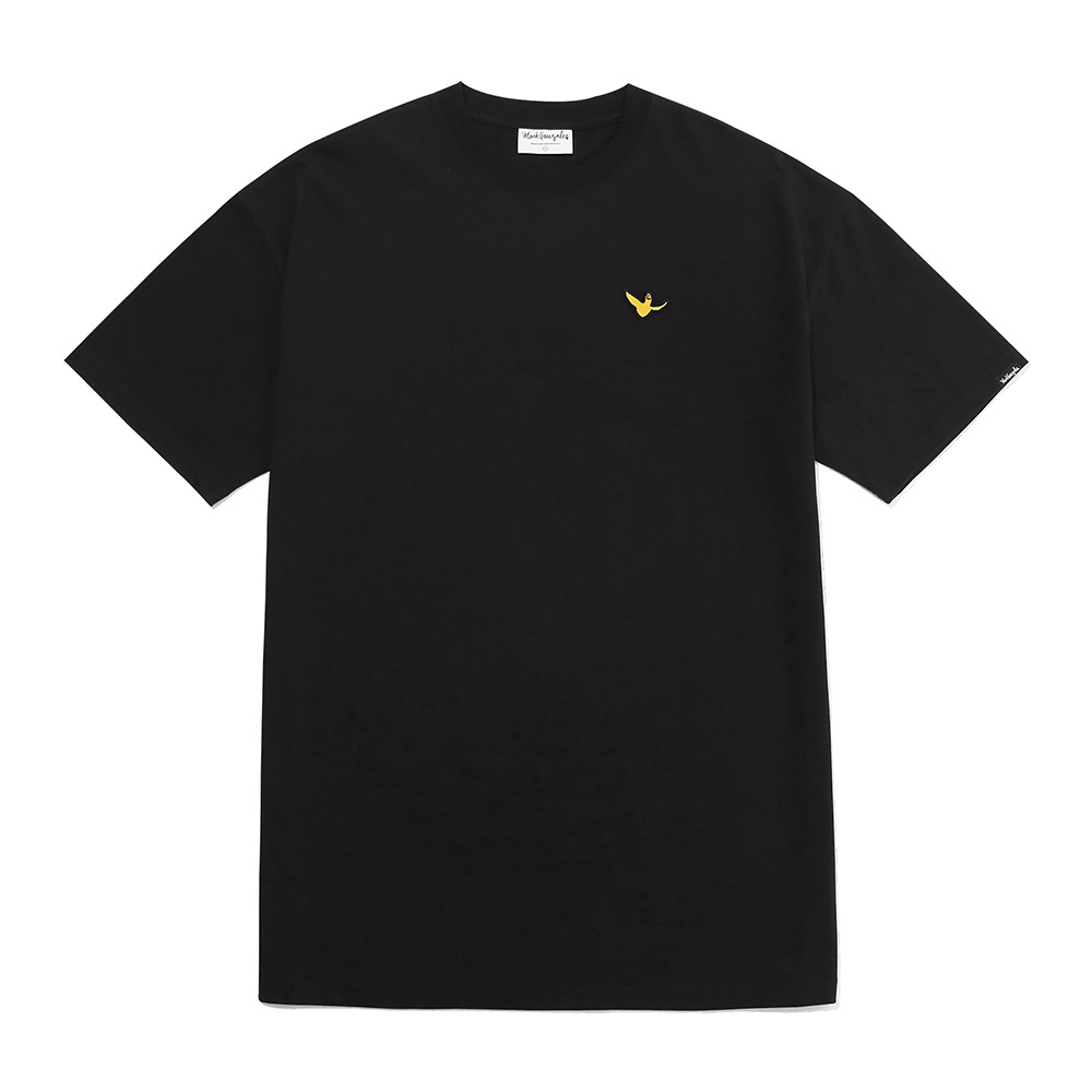 M/G WOMENS LAYERED T-SHIRTS BLACK