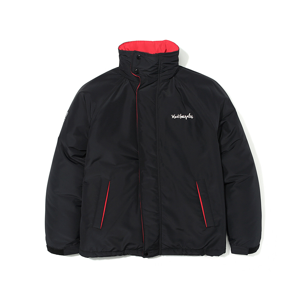 M/G PADDED HOODED JACKET BLACK