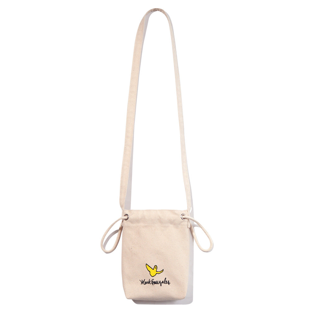 M/G ECO POUCH BAG IVORY