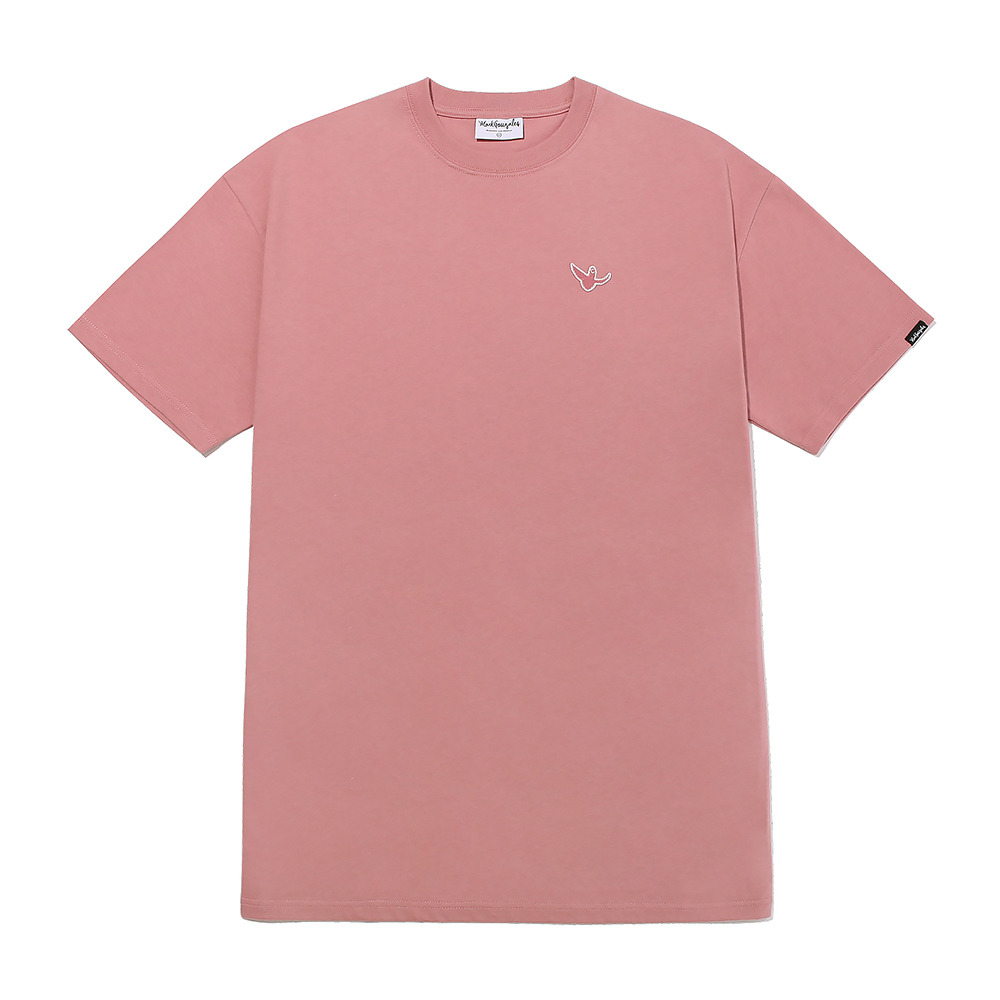 M/G WOMENS LAYERED T-SHIRTS PINK